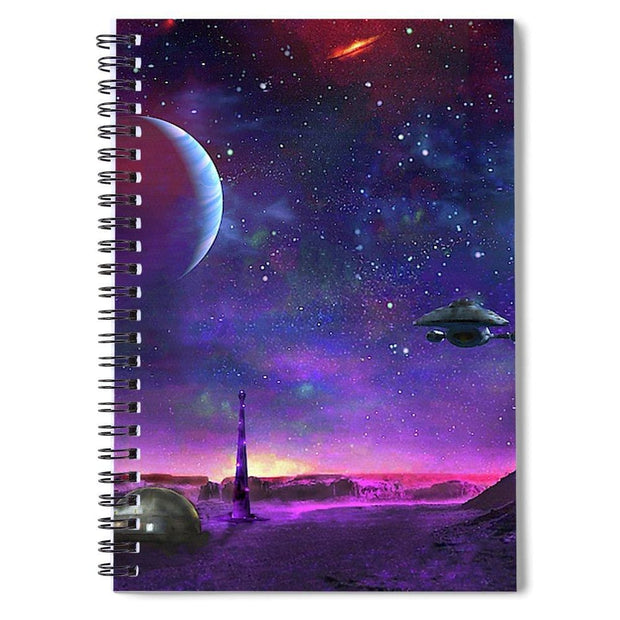 Colony Patrol Services - Spiral Notebook by Don White - Art Dreamer