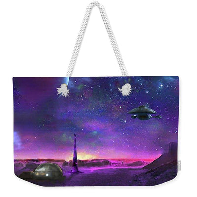 Colony Patrol Services - Weekender Tote Bag by Don White - Art Dreamer