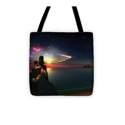 Dark Sky Planet - Tote Bag by Don White - Art Dreamer
