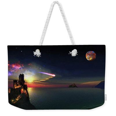 Dark Sky Planet - Weekender Tote Bag by Don White - Art Dreamer
