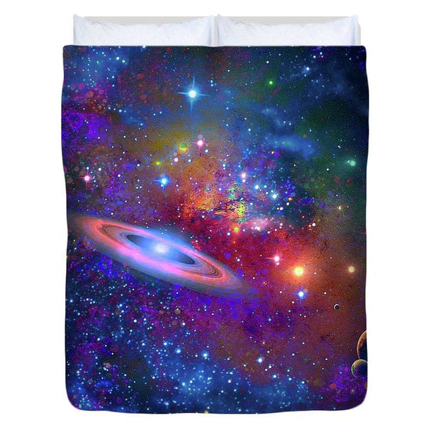Deep Space Drifting - Duvet Cover by Don White - Art Dreamer