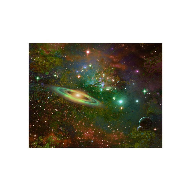 Deep Space Drifting Matted Print - 11 x 14 | Space Travel Art
