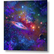 Deep Space Drifting - Metal Print by Don White - Art Dreamer