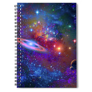 Deep Space Drifting - Spiral Notebook by Don White - Art Dreamer