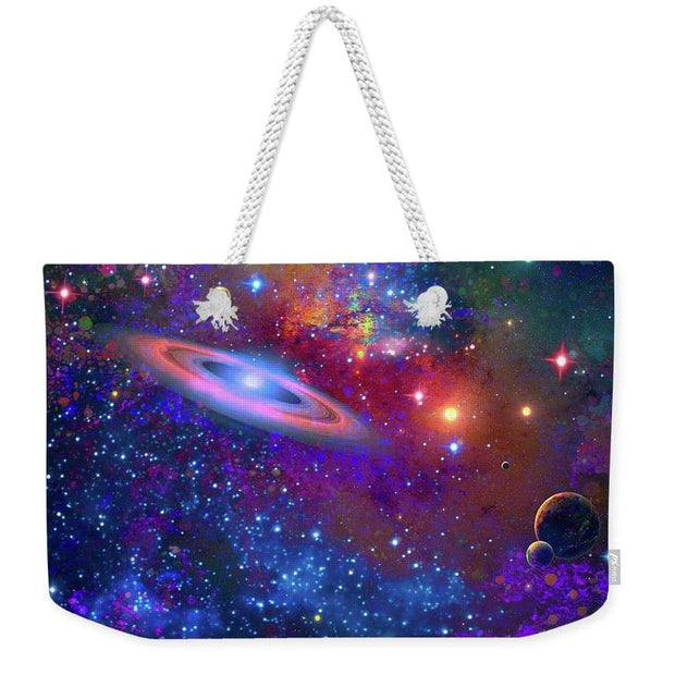 Deep Space Drifting - Weekender Tote Bag by Don White - Art Dreamer
