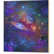 Deep Space Drifting - Wood Print by Don White - Art Dreamer