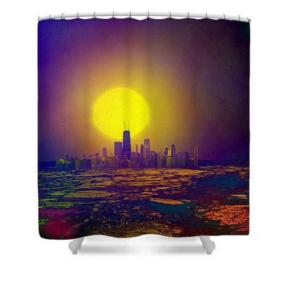 Deserted City - Shower Curtain - 71 x 74 Standard - Shower Curtain