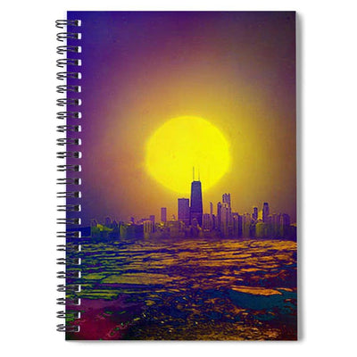Deserted City - Spiral Notebook - 6 x 8 - Spiral Notebook