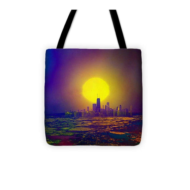 Deserted City - Tote Bag - 13 x 13 - Tote Bag