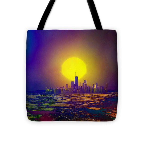 Deserted City - Tote Bag - 16 x 16 - Tote Bag
