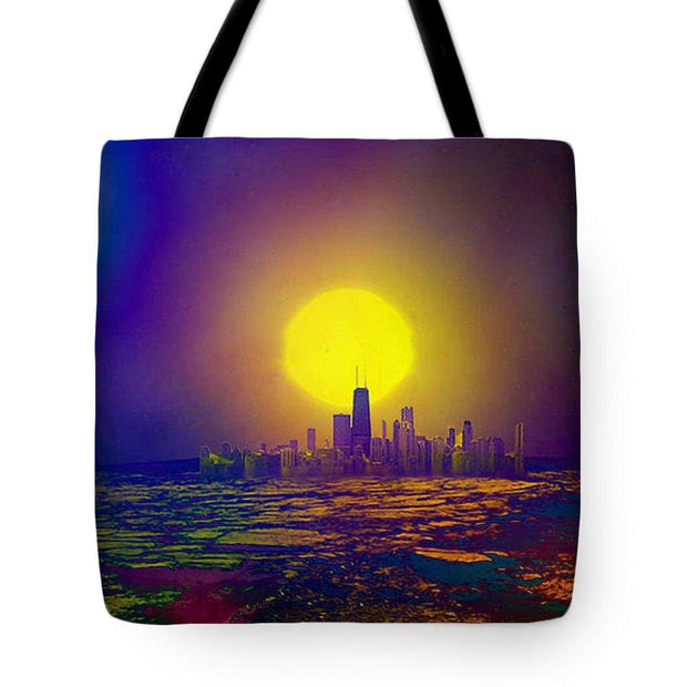 Deserted City - Tote Bag - 18 x 18 - Tote Bag