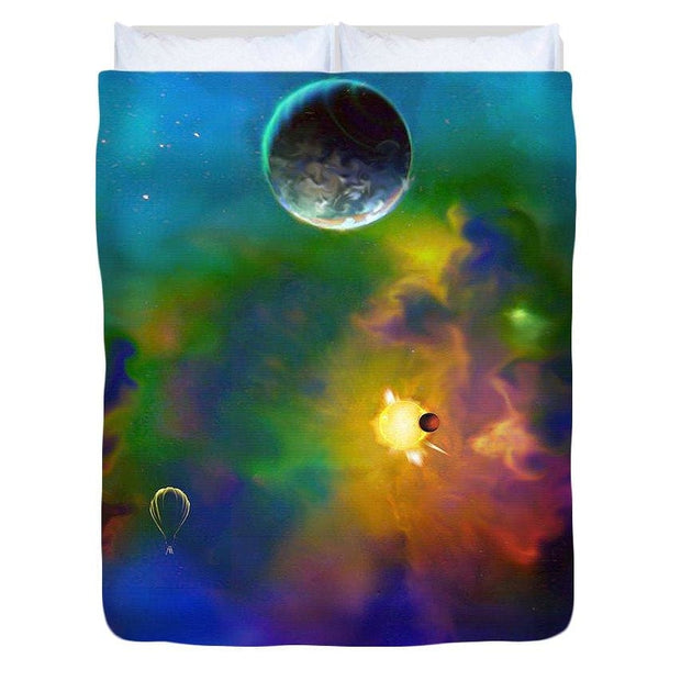 Dream Big  - Duvet Cover by Don White - Art Dreamer