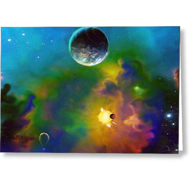 Dream Big  - Greeting Card by Don White - Art Dreamer