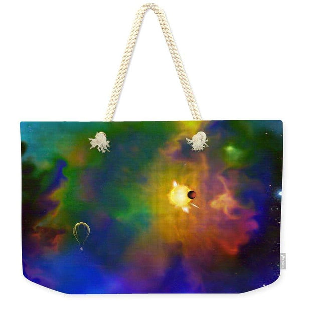 Dream Big  - Weekender Tote Bag by Don White - Art Dreamer