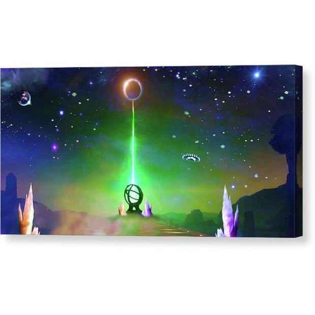Energy Exchange - Canvas Print by Don White - Art Dreamer