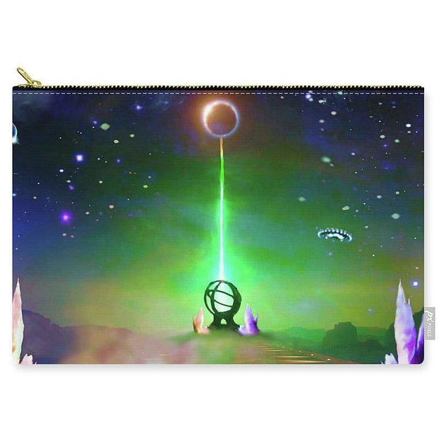 Energy Exchange - Carry-All Pouch by Don White - Art Dreamer