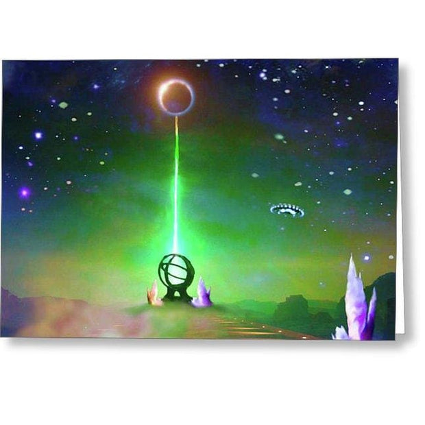 Energy Exchange - Greeting Card by Don White - Art Dreamer