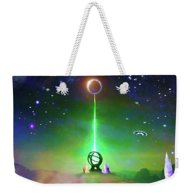 Energy Exchange - Weekender Tote Bag by Don White - Art Dreamer