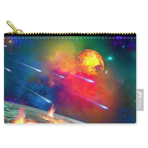 Fire Moon - Carry-All Pouch by Don White - Art Dreamer