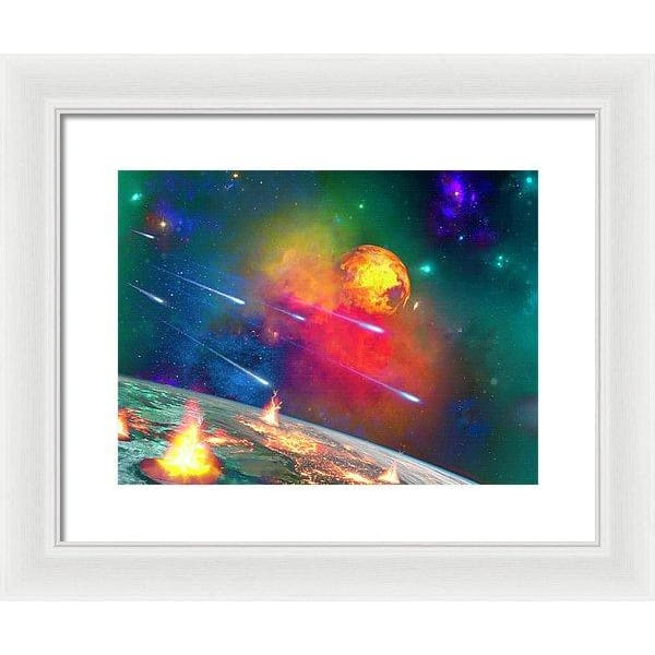 Fire Moon - Framed Print by Don White - Art Dreamer