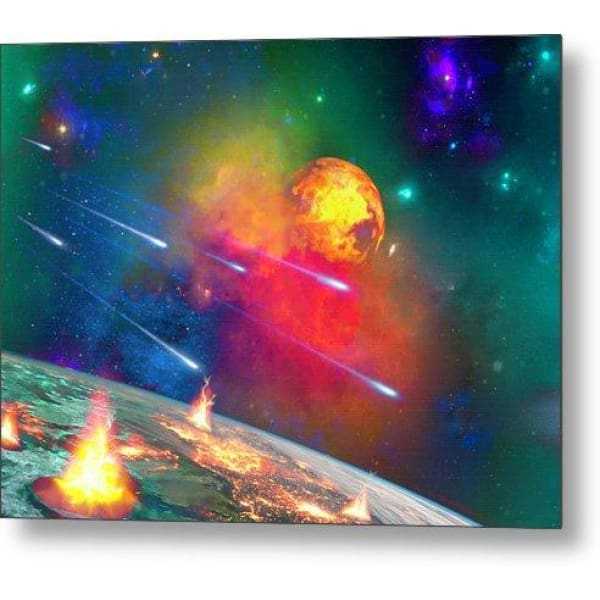 Fire Moon - Metal Print by Don White - Art Dreamer