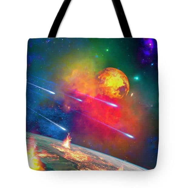 Fire Moon - Tote Bag by Don White - Art Dreamer