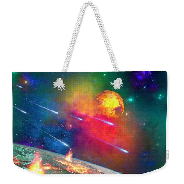 Fire Moon - Weekender Tote Bag by Don White - Art Dreamer