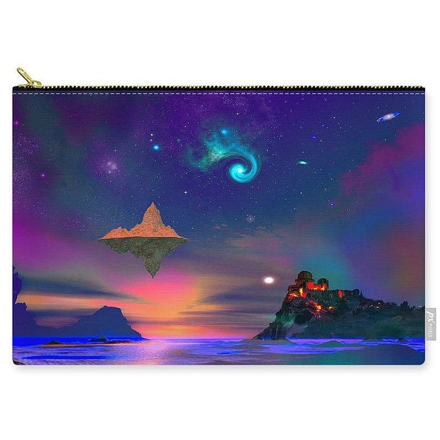 Floating Island - Carry-All Pouch - Large (12.5 x 8.5) - Carry-All Pouch