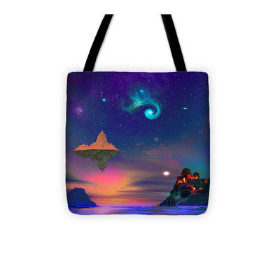 Floating Island - Tote Bag - 13 x 13 - Tote Bag
