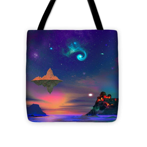 Floating Island - Tote Bag - 16 x 16 - Tote Bag