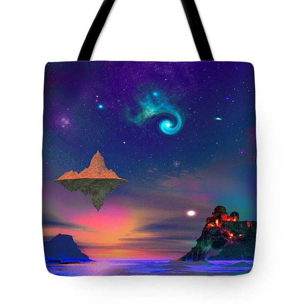 Floating Island - Tote Bag - 18 x 18 - Tote Bag