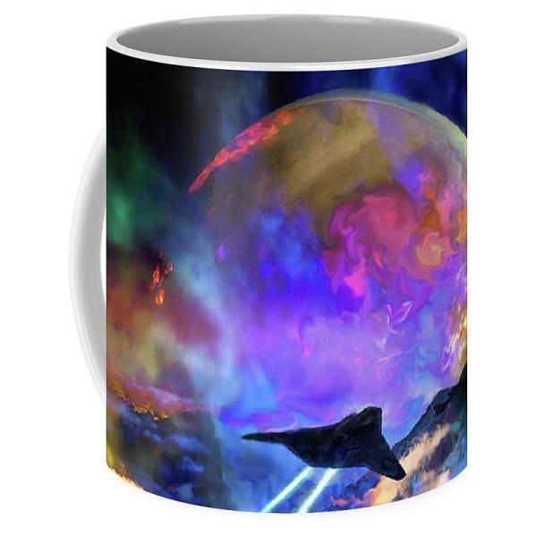 Fly-by - Mug by Don White - Art Dreamer