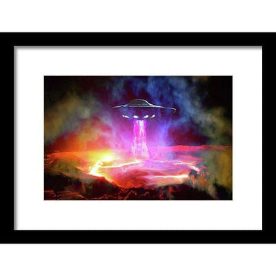 Fuel Stop - Framed Print by Don White - Art Dreamer