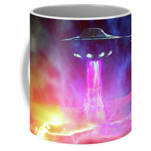 Fuel Stop - Mug by Don White - Art Dreamer