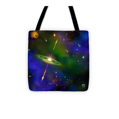 Green Sky Galaxy - Tote Bag by Don White - Art Dreamer