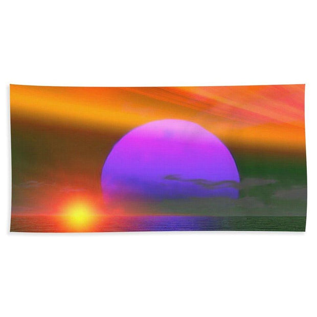 Happy Place - Beach Towel by Don White - Art Dreamer
