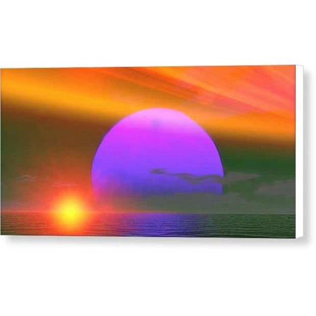 Happy Place - Canvas Print by Don White - Art Dreamer