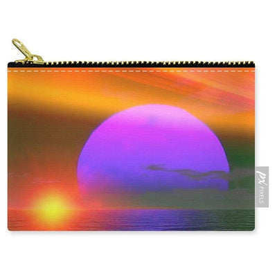 Happy Place - Carry-All Pouch by Don White - Art Dreamer