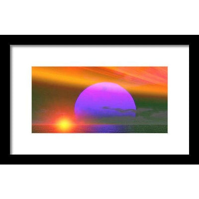 Happy Place - Framed Print by Don White - Art Dreamer