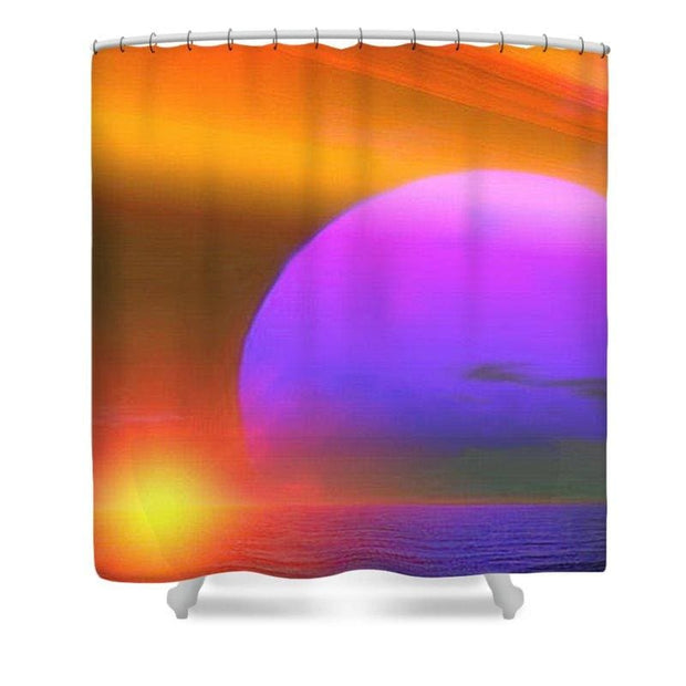 Happy Place - Shower Curtain by Don White - Art Dreamer