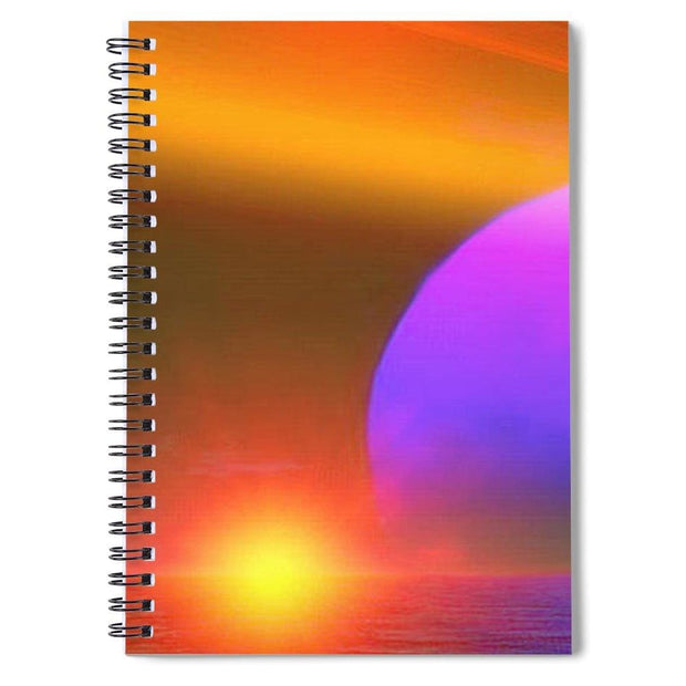 Happy Place - Spiral Notebook by Don White - Art Dreamer