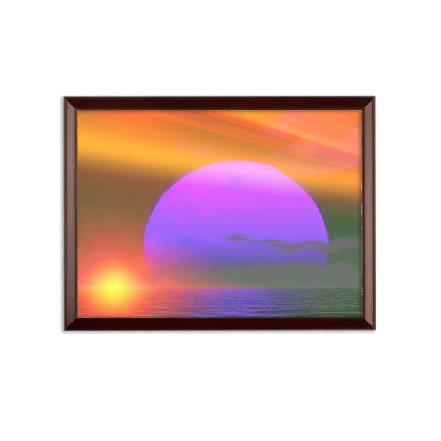 happy place Sublimation Wall Plaque by Don White - Art Dreamer