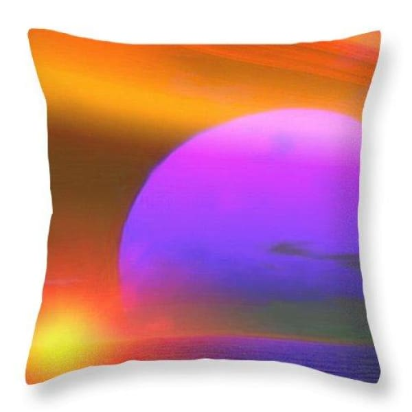 Happy Place - Throw Pillow by Don White - Art Dreamer