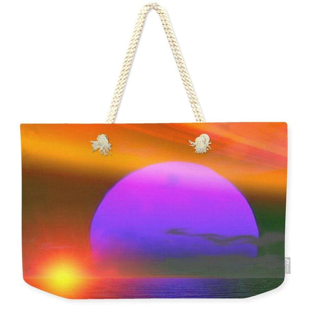 Happy Place - Weekender Tote Bag by Don White - Art Dreamer