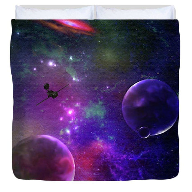 Held Against Their Will  - Duvet Cover by Don White - Art Dreamer