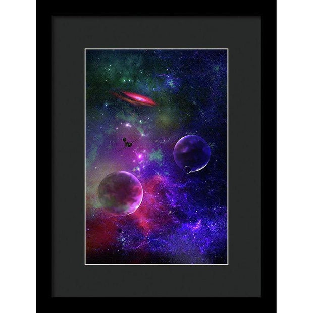 Held Against Their Will  - Framed Print by Don White - Art Dreamer