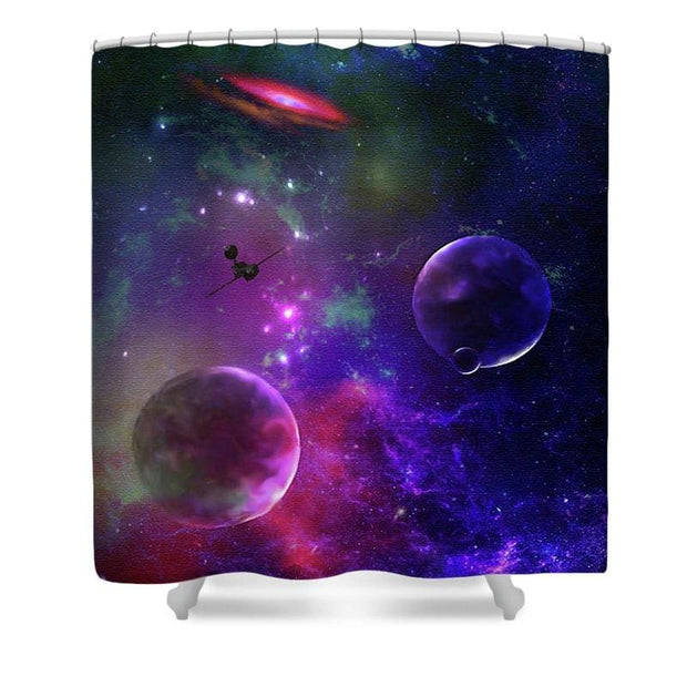 Held Against Their Will  - Shower Curtain by Don White - Art Dreamer