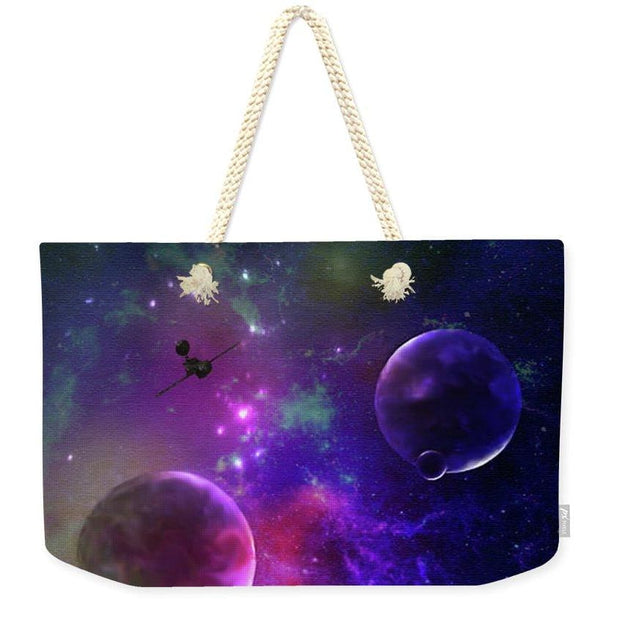 Held Against Their Will  - Weekender Tote Bag by Don White - Art Dreamer