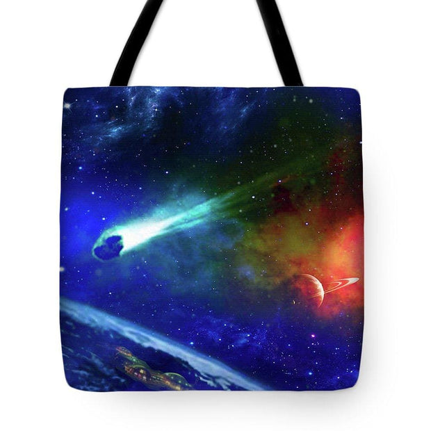 Impact Shelter - Tote Bag by Don White - Art Dreamer