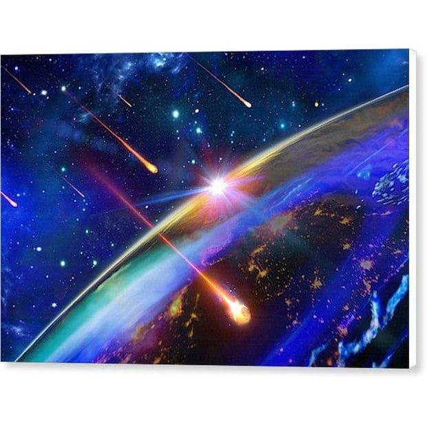Incoming - Canvas Print by Don White - Art Dreamer